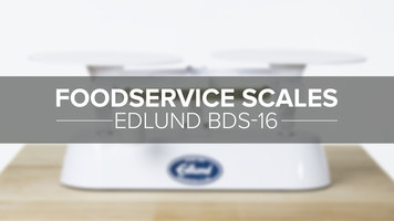 Edlund 16lb. Baker's Scale
