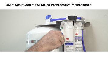 3M™ ScaleGard™ FSTM075 Reverse Osmosis Water Filtration System Preventative Maintenance