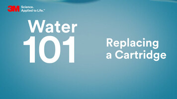 3M Water 101: How to Change a 3M Water Filter Replacement Cartridge