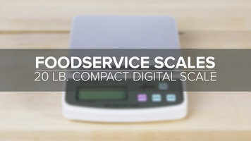 20lb. Compact Digital Scale