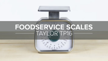 Taylor TP16 16 oz. Analog Portion Control Scale