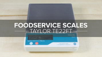 Taylor TE22FT Digital Scale