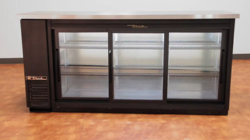 True TBB 24-inch Back Bar Refrigerator