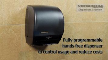 VonDrehle Hands-Free Electronic Paper Towel Dispenser