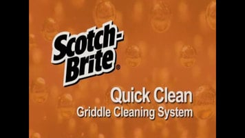 3M Scotch-Brite Griddle Quick Clean System