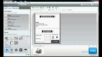 DYMO: How to use DYMO LabelWriter 4XL Shipping Labels