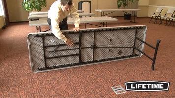 Lifetime 8 ft. Professional Folding Tables