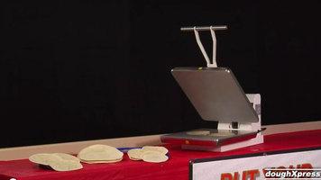 DoughXpress: TXM-20 Manual Tortilla Press 16in x 20in - 220V