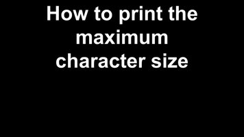 DYMO: Rhino 5200: How to change text size