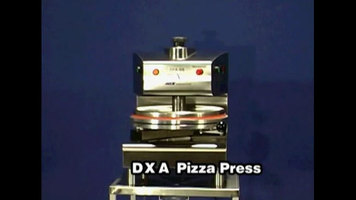 DoughXpress: DXA-SS Automatic Pizza Dough Press 18-inch - Air Operated