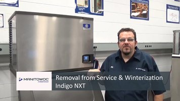 Manitowoc: Removal from Service & Winterization Indigo NXT