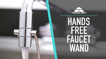 Advance Tabco Hands Free Faucet Wand