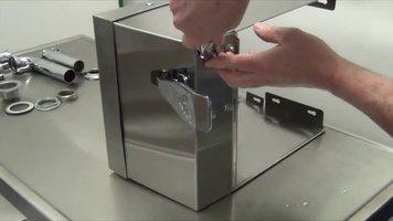 Advance Tabco 7-PS-63 Knee Valve Installation