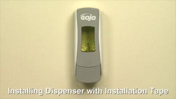 GOJO® ADX-7 Manual Soap Dispenser: Installation