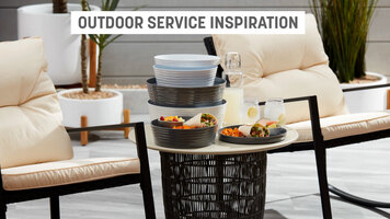 American Metalcraft Outdoor Service Collection