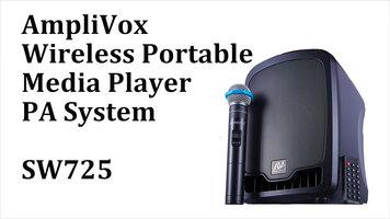 AmpliVox SW725 Wireless Portable PA