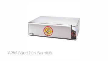 APW Wyott Hot Dog Bun Warmer