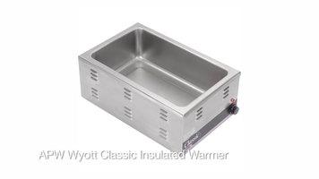 APW Wyott Classic Insulated Warmer