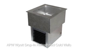 APW Wyott Drop-In Refrigerated Cold Well