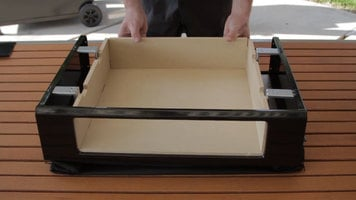How to Assemble a BakerStone Pizza Box