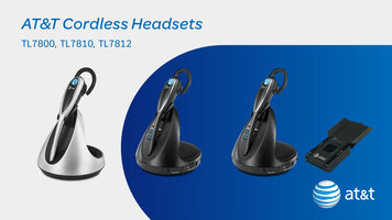 AT&T Cordless Headsets
