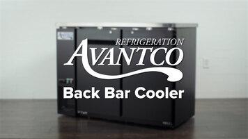 Avantco Back Bars