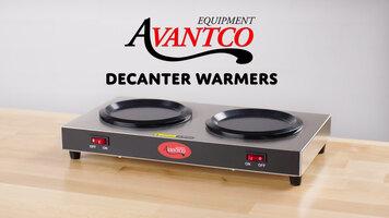 Avantco Coffee Decanter Warmers