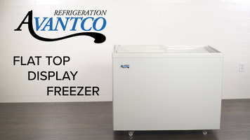 Avantco Flat Top Display Freezer