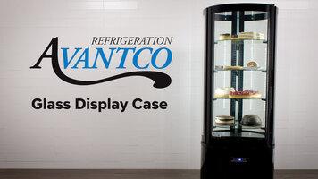 Avantco Glass Display Cases