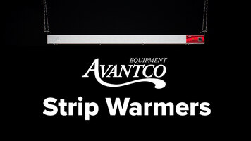 Avantco Strip Warmers