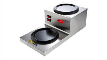 Avantco W53 Step-Up Coffee Decanter Warmer