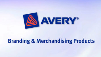 Avery: Branding and Merchandising Products