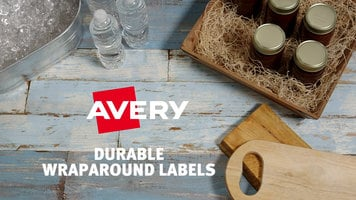 Avery: Durable Wraparound Labels