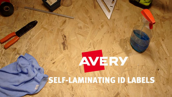Avery Self-Laminating ID Labels