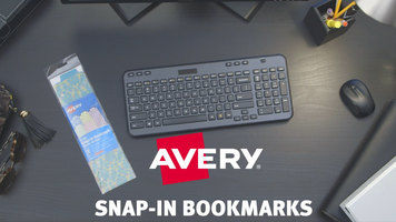 Avery Snap-In Bookmarks