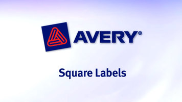 Avery Square Labels