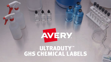 Avery- Are your Labels GHS Compliant?