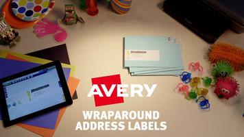 Avery: Wraparound Address Labels