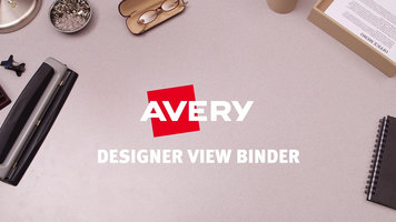 Avery Designer View Binders