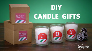 Avery: How to Make DIY Candle Gifts