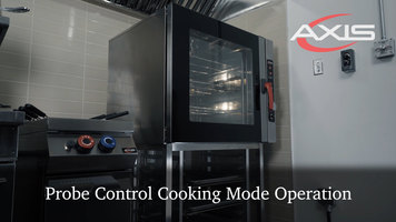 Axis Combi Oven: Probe Cooking