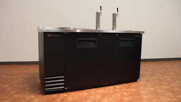 True Back Bar and Direct Draw Refrigerators