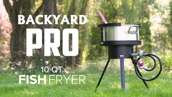 Backyard Pro 10 Qt. Fish Fryer