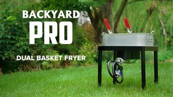 Backyard Pro 18 Qt. Dual Basket Fryer