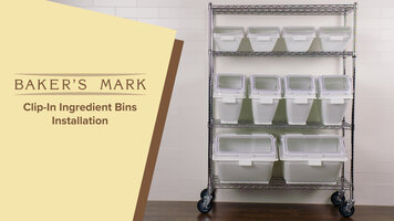 How to Install Baker's Mark Clip-In Ingredient Bins