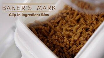 Baker's Mark Clip-In Ingredient Bins