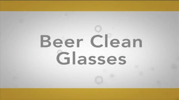 How to Get Your Glasses Beer Clean