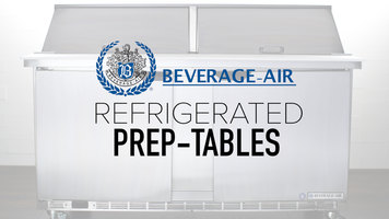 Beverage Air Refrigerated Food Prep Tables