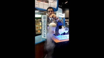 Beverage Air RC500 Rapid Chill Glass Froster Demonstration