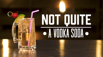 How to Make a Not Quite a Vodka Soda Cocktail